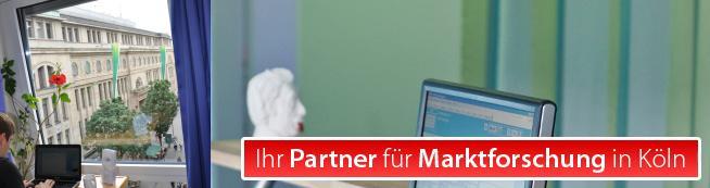 Ihr Partner für Marktforschung in Köln