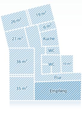 Raumplan Empfang Pmf Flügel Marktforschung In Köln